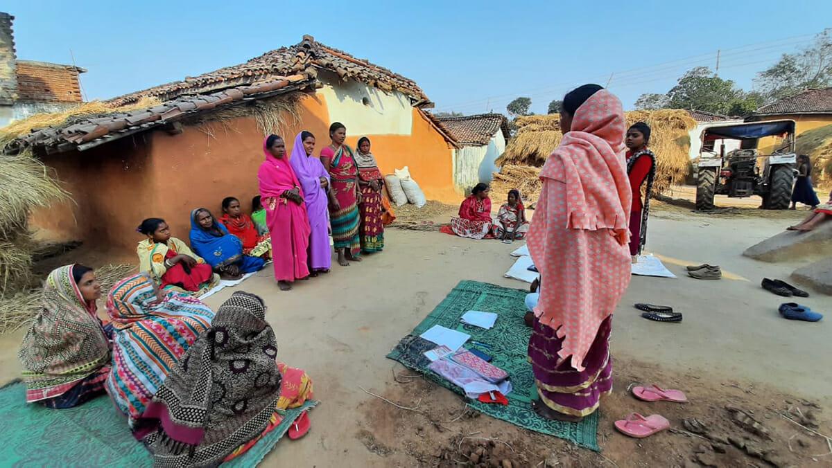 Umang project_menstrual hygiene_PCI India